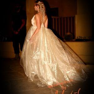 DAMITA Custom Order Organza Wedding Ballgown Set